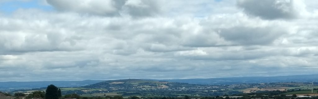 Kit Hill with Dartmoor Beyond