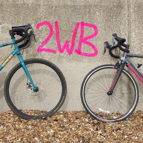 Two Wheels Better Logo