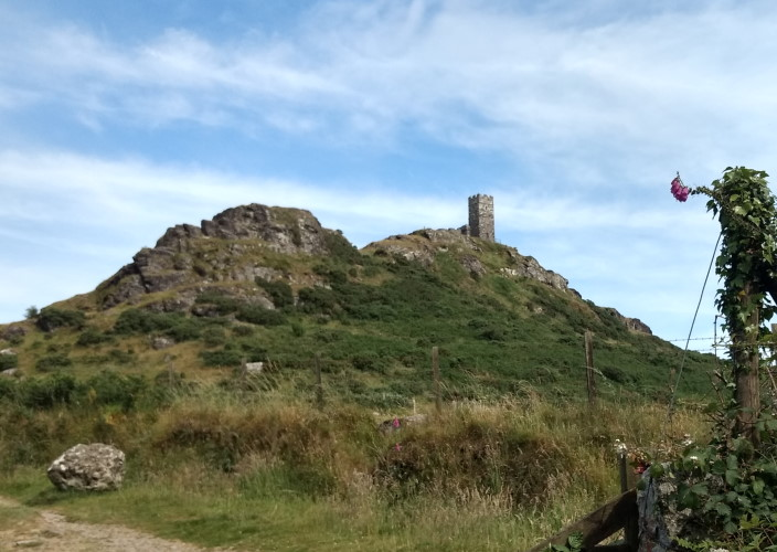 Brent Tor and church