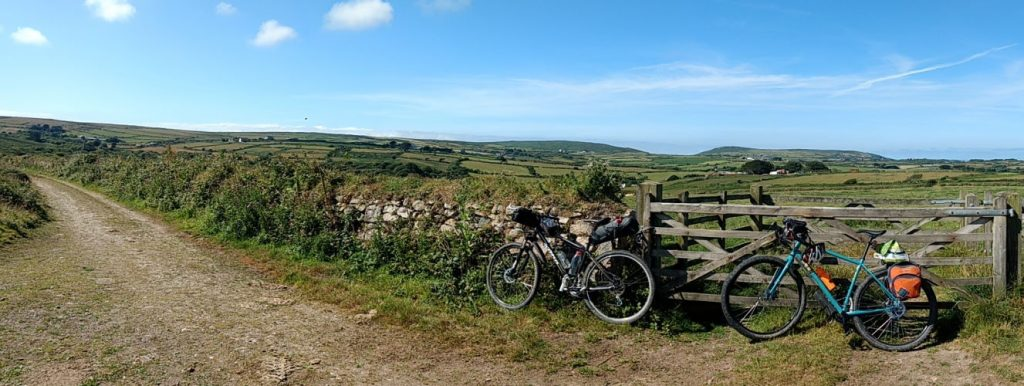 Track over north Cornish moors, near Lands End off-road