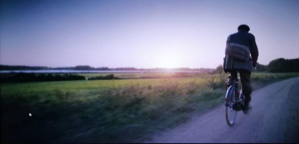 Cycling Along River Deben