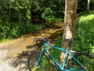 Ford across River Dove, Thornham Magna