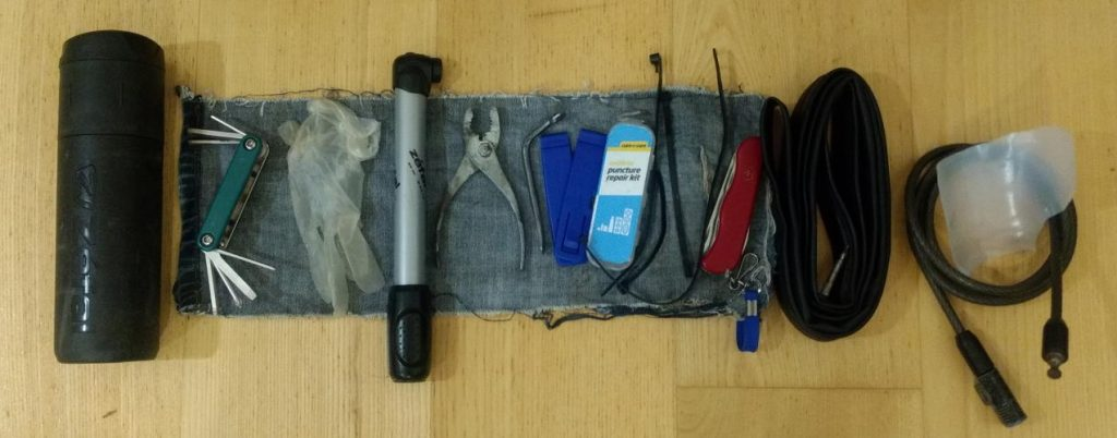Bike tools to carry on a day ride